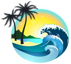 Sea Sunset Ground PNG Clipart.