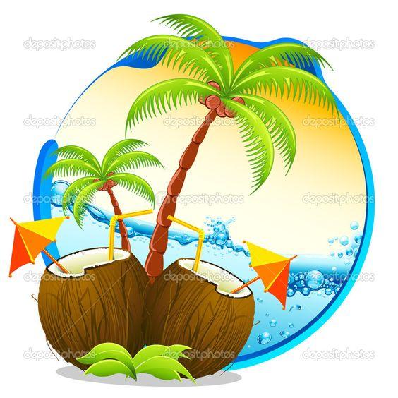 tropical drinks.