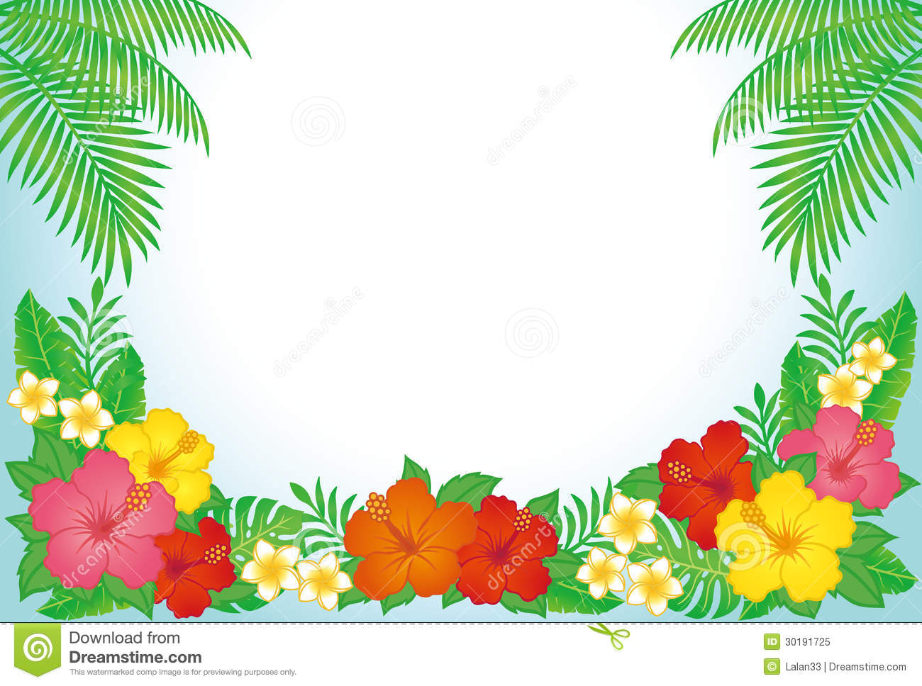Tropical Resort Background Royalty Free Stock Photo.