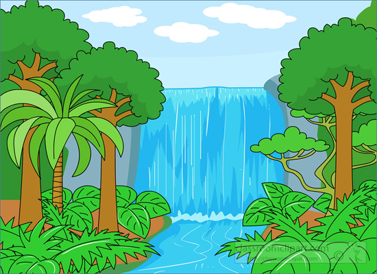 Waterfall Clipart & Waterfall Clip Art Images.