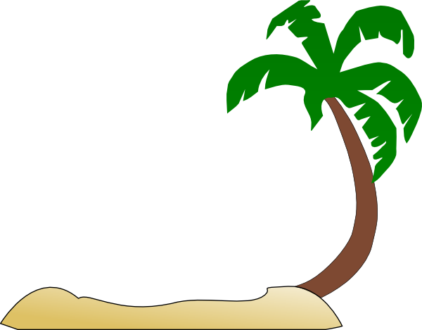 Clipart tropical tree.
