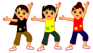Just Dance Group Dancing Girl Move Art Girls Clipart Png.