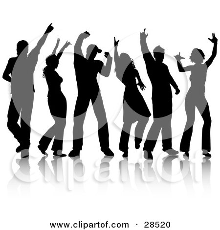 Royalty Free People Dancing Illustrations by KJ Pargeter Page 2.