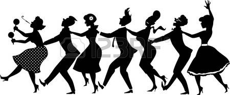 6,616 Line Dance Stock Vector Illustration And Royalty Free Line.