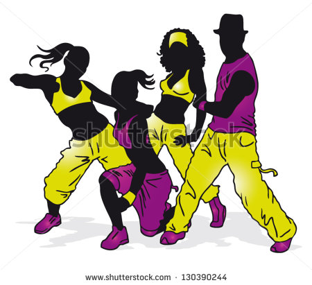 Dance Fitness Group Stock Vectors, Images & Vector Art.