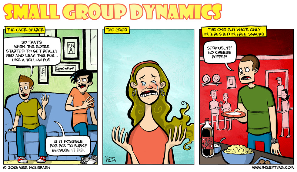 Group dynamics clipart.