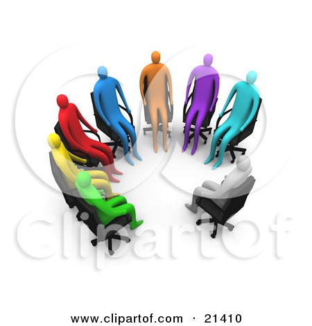 Panel Interview Clipart (18+).