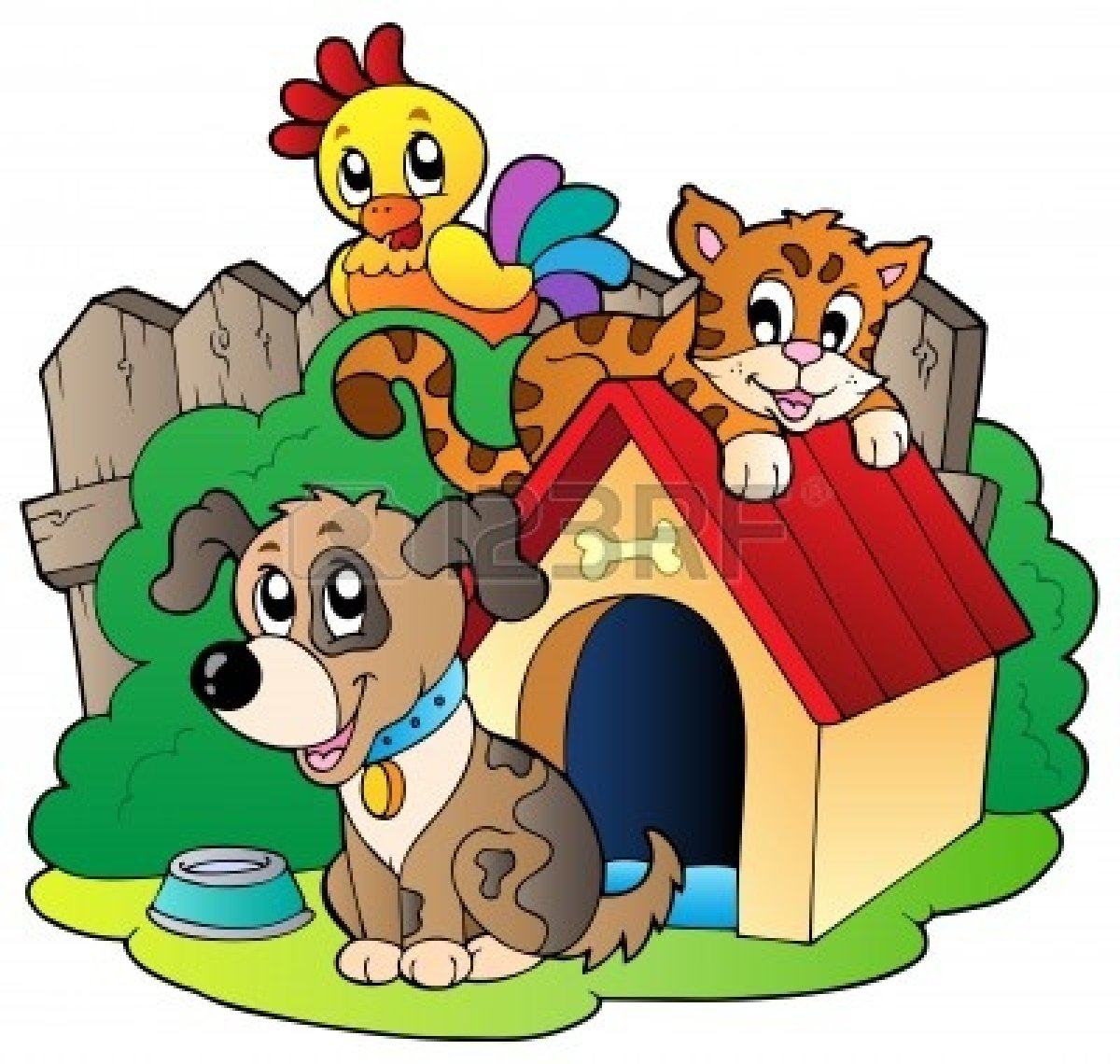 Group Of Animals Clipart.
