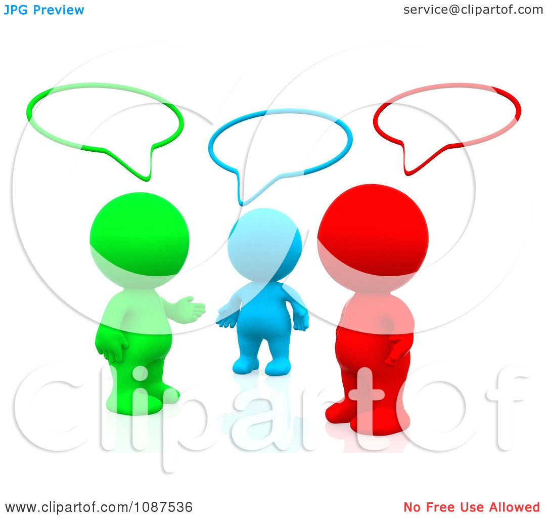 Group Talking Clipart#1895924.