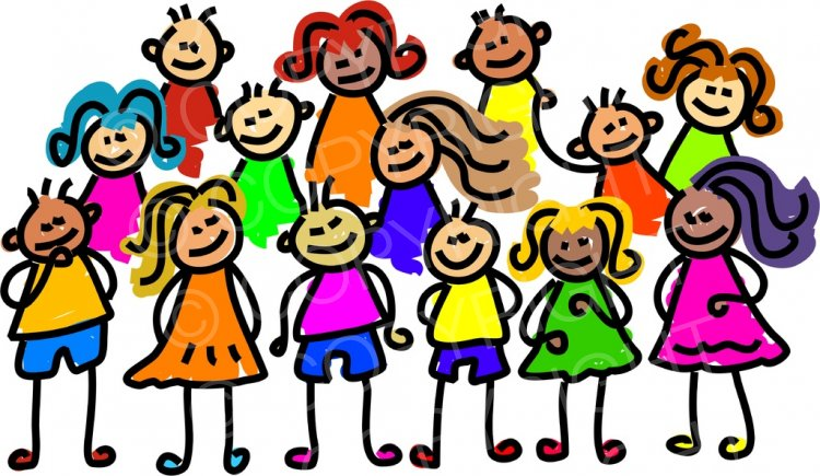 Happy Group Clipart.