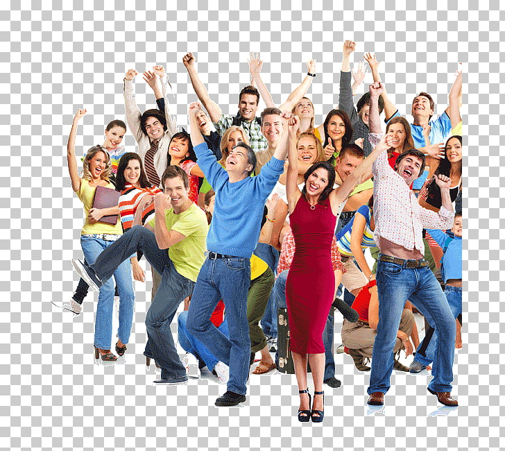 Stock photography , happy people PNG clipart.
