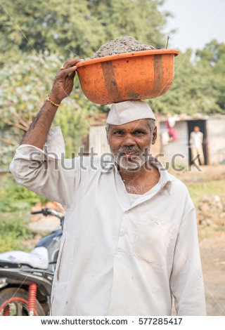 Indian Farmer Stock Photos, Royalty.