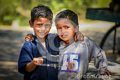 Young Boys Indian Village Stock Photos, Images, & Pictures.