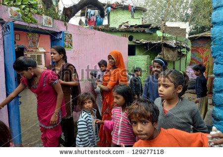 India Poverty Stock Photos, Royalty.