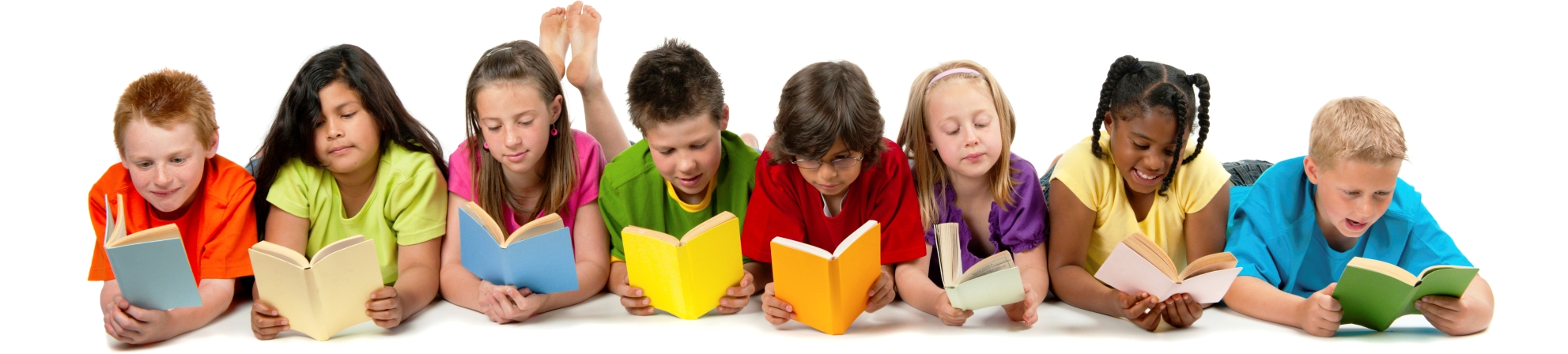 Children Reading.