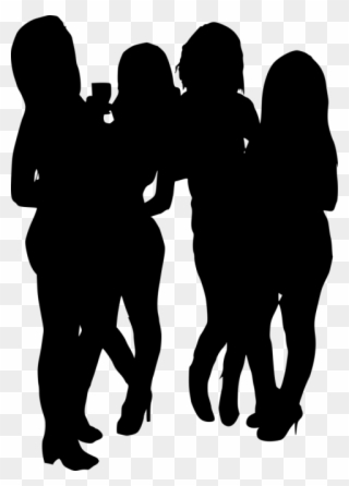 Free PNG Group Of Ladies Clip Art Download.