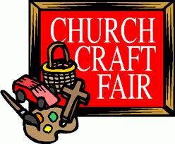Craft Fair Fundraiser. The churches where I grew up had annual.
