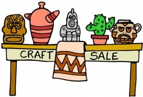 Group Of People At A Table Clipart Arts And Craft.