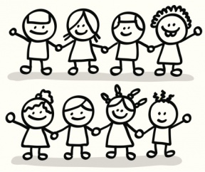 Group Work Clipart Black And White.