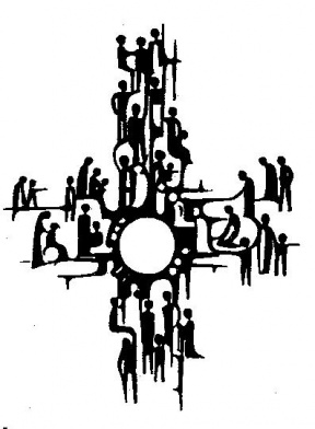 Group Of People Praying Clipart.