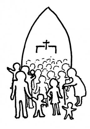 Group Prayer Clipart.