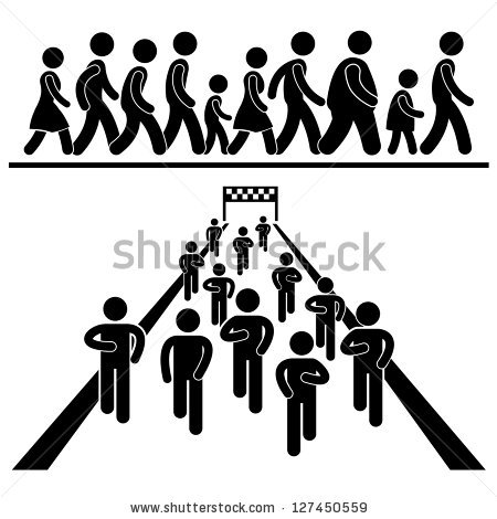 Stick Figure Stock Images, Royalty.