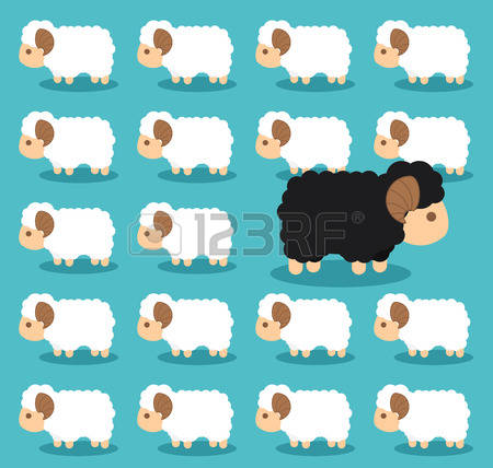 1,545 Flock Of Sheep Stock Vector Illustration And Royalty Free.
