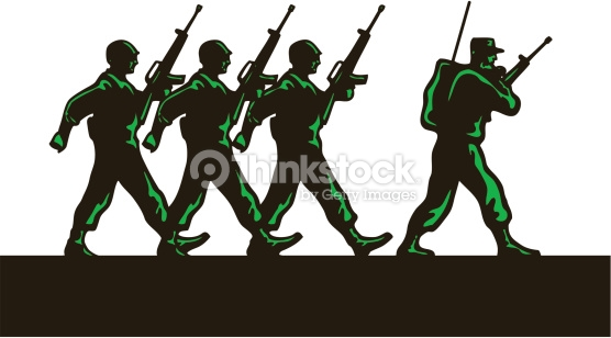 Army clipart group soldier, Army group soldier Transparent.
