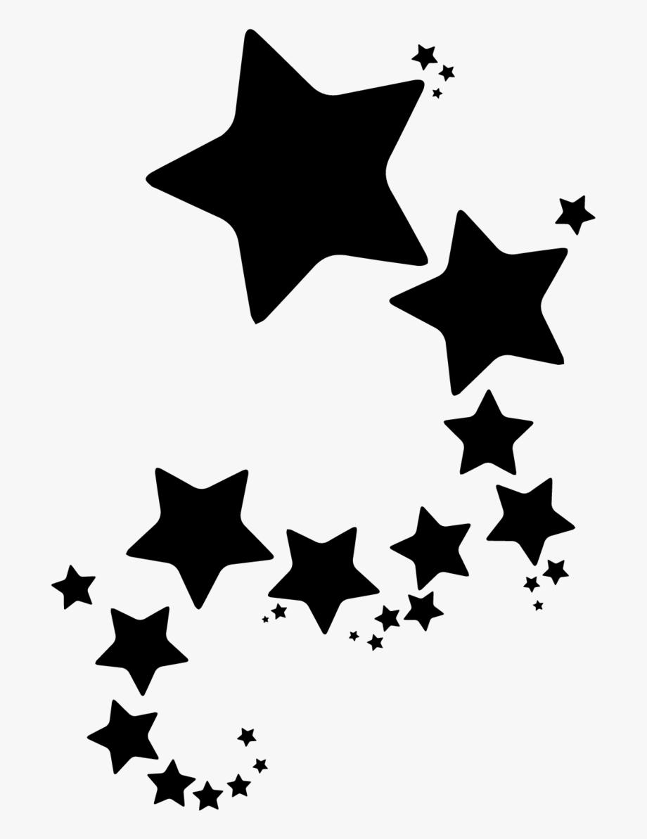 Group Of Stars Sticker.