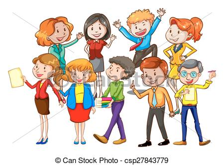 Group of teachers clipart 10 » Clipart Station.