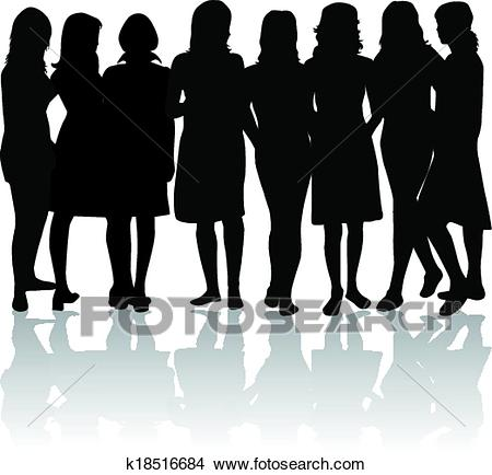 Group of women.