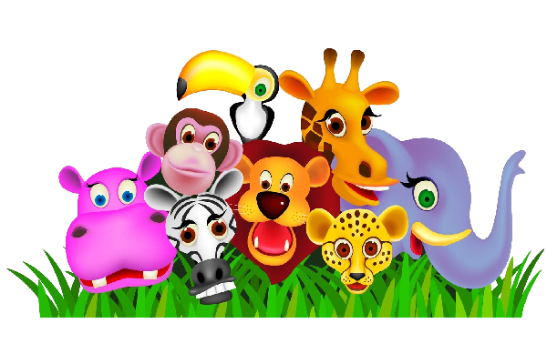 Group of zoo animals clipart 2 » Clipart Station.