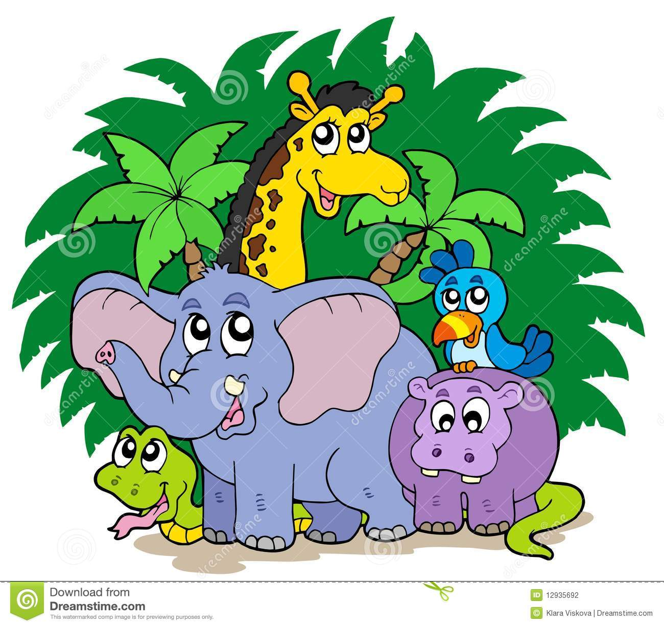 Group of zoo animals clipart 3 » Clipart Station.