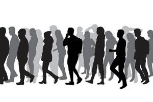 Group of people walking clipart 4 » Clipart Station.