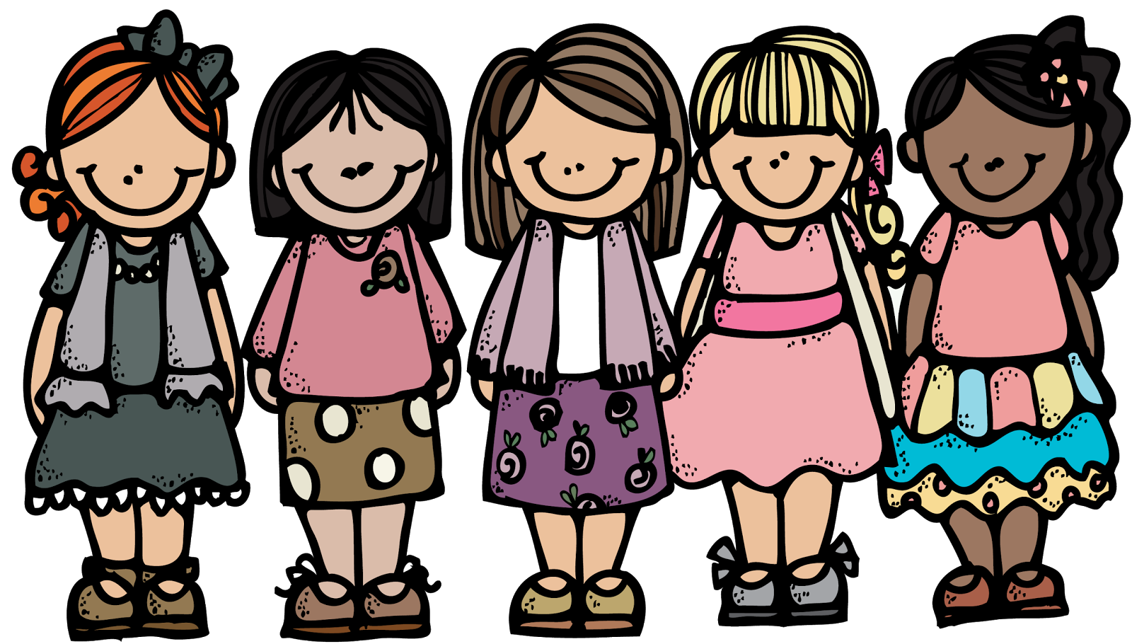 Toddler clipart group friends, Toddler group friends.