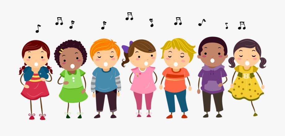 Song Group Children Clipart.