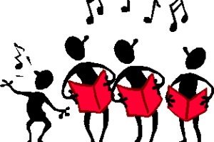 Group singing clipart » Clipart Portal.