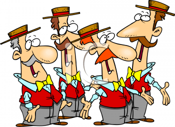 Group singing clipart 2 » Clipart Portal.