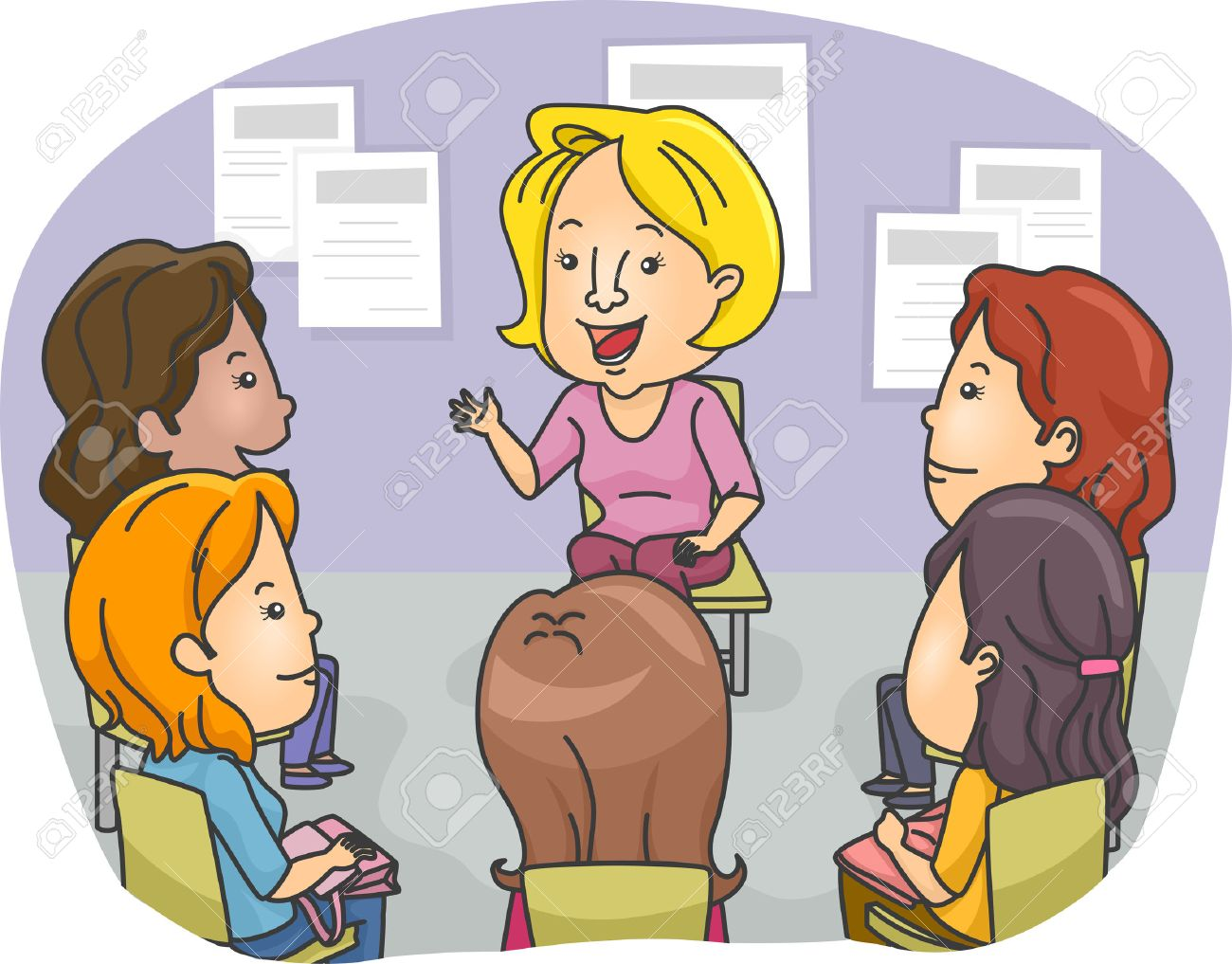 Group therapy clipart 8 » Clipart Station.