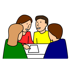 group work clipart clipground Student Sitting in Desk Students Being Responsible