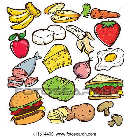 1261 Foods free clipart.