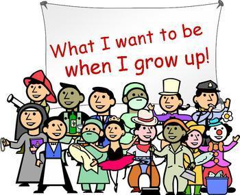 What I Want To Be When I Grow Up Clipart.