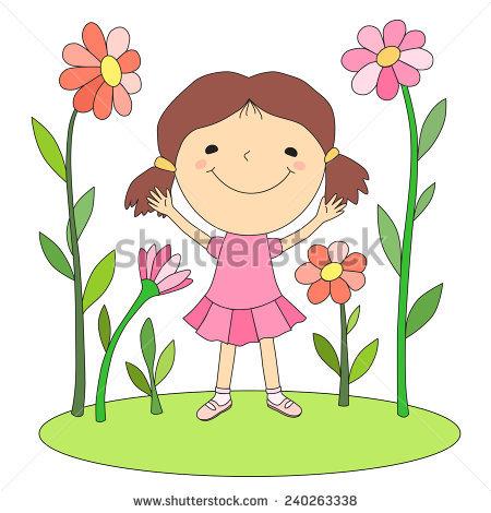 Kids Growing Stock Vectors & Vector Clip Art.