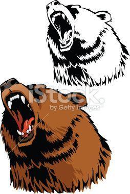 Roaring bear clipart » Clipart Portal.