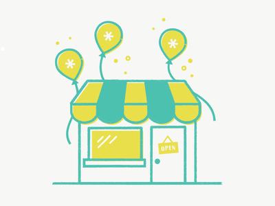 Shop Anniversary by Bronwyn Gruet.