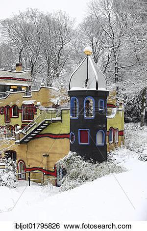 "Stock Images of ""Ronald McDonald House, designed by Hundertwasser."
