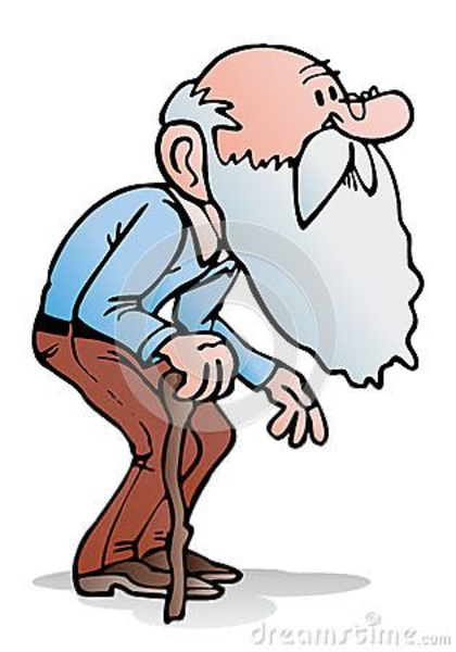Grumpy Old Man Clipart Free.