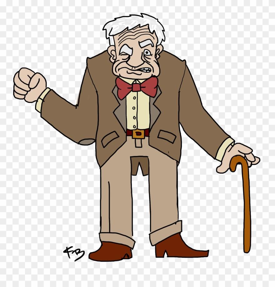 Old Man Transparent.