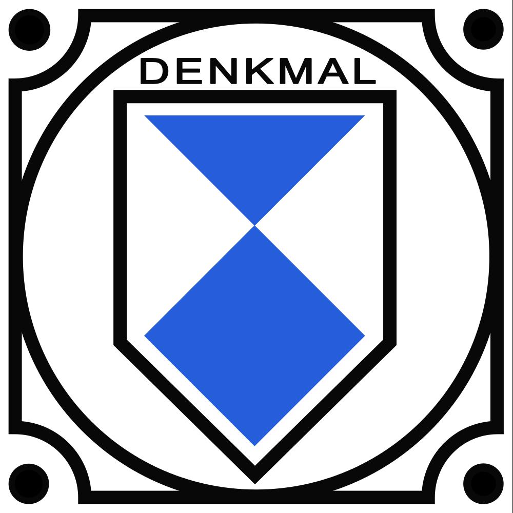 File:Denkmalplakette Deutschland.svg.