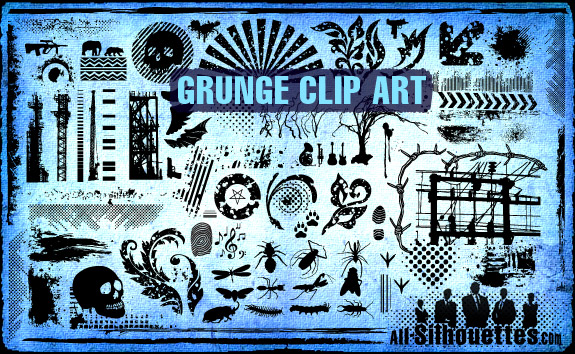 Vector Grunge Clipart.